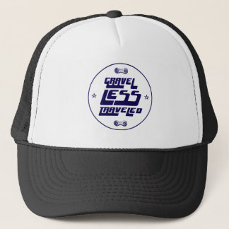 Gravel Less Traveled Trucker Hat