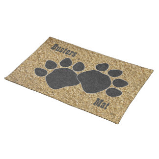 Gravel PawS Dogs Placemat