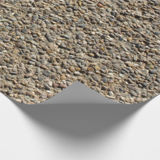 Gravel & Sand Photo Wrapping Paper