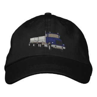 Gravel Truck Embroidered Hats