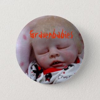 Gravenbabies Horror doll 2 Inch Round Button