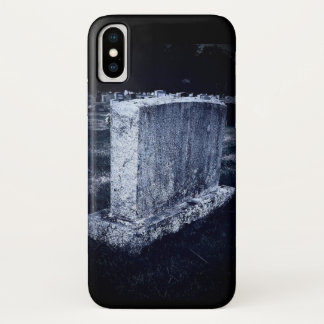 Gravestone Apple iPhone X, Barely There Phone Case