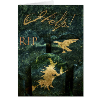 Gravestone Hell Card