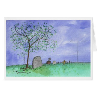 Graveyard & Antenna Card