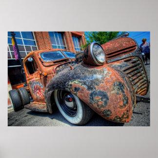 Graveyard Customs Rat Dodge Poster