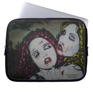 'Graveyard Girlfriends' Laptop/ Electronics Bag Laptop Computer Sleeves