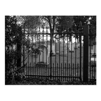 Graveyard Greetings! - Postcard #1