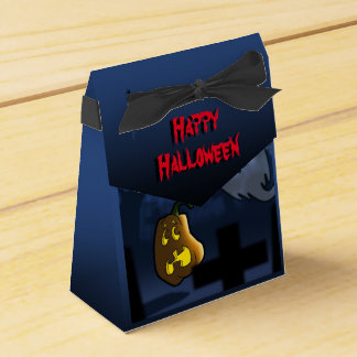 Graveyard Scare Halloween Favor Box