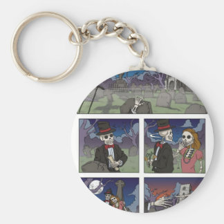 Graveyard Speed Dating Key Ring