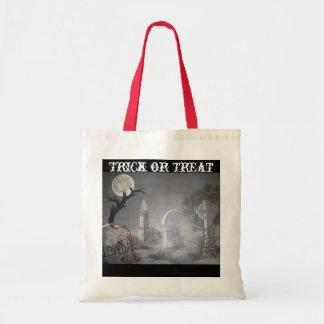 Graveyard Trick-or Treat Tote Bag