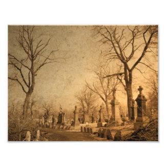 Graveyard Walk Photo Print