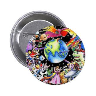 Gravitation 2 Inch Round Button
