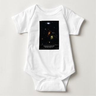 Gravitational Lens Bending Light Baby Bodysuit