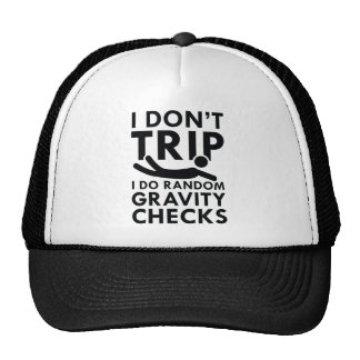 Gravity Checks Trucker Hat