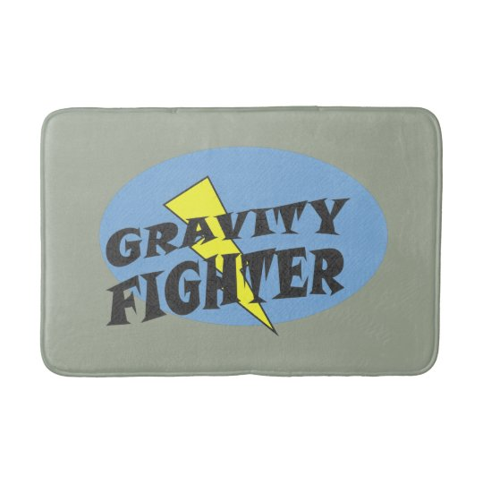 Gravity Fighter Bath mat
