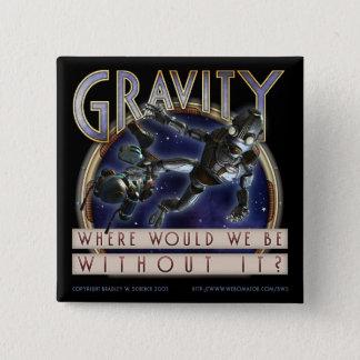 """""""Gravity"""" Square Button"""