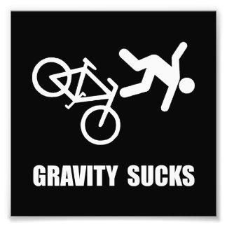 Gravity Sucks Bike Photo