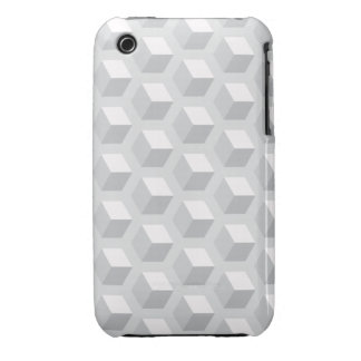 Gray 3D iPhone 3/3GS case iPhone 3 Cover