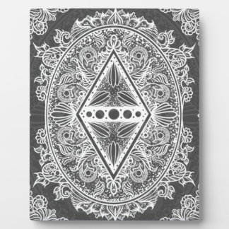 Gray, Age of awakening, bohemian, newage Plaque