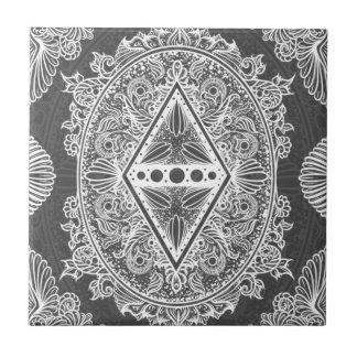 Gray, Age of awakening, bohemian, newage Tile
