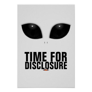 Gray-Alien Eyes Disclosure poster