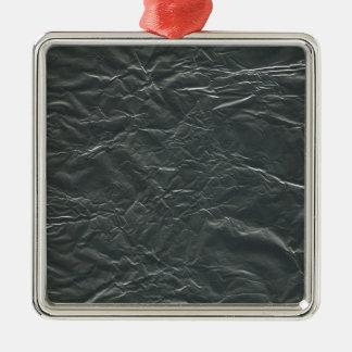 GRAY ALUMINUM FOIL WRINKLED BACKGROUNDS WALLPAPERS METAL ORNAMENT