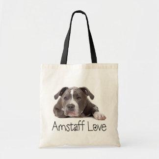 Gray American Staffordshire Terrier Dog - Amstaff