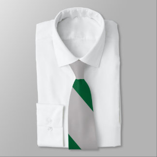 Gray and Ivy Broad University Stripe Tie