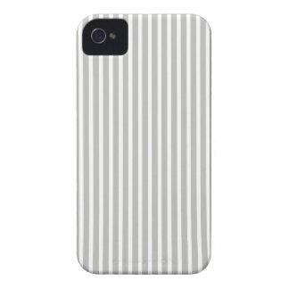 Gray and White Fine Stripe Iphone 4/4S Case