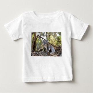 Gray and White Koala Bear Baby T-Shirt