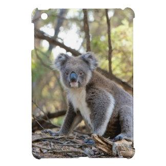 Gray and White Koala Bear iPad Mini Cover