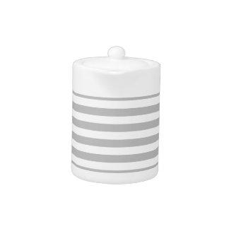 Gray and White Stripe Pattern