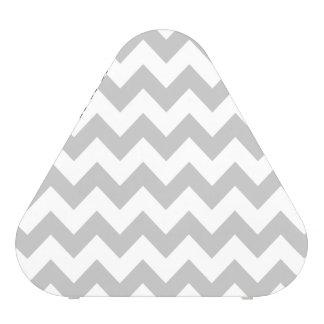 Gray and White Zigzag Chevron Pattern Blueooth Speaker