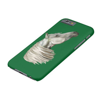 Gray Arabian Horse Equine Barely There iPhone 6 Case