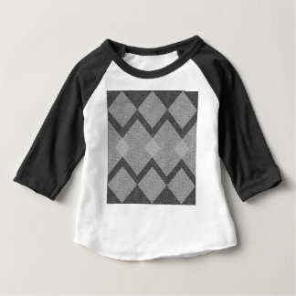 gray argyle baby T-Shirt