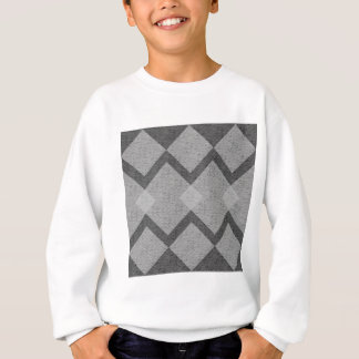 gray argyle sweatshirt