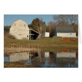 Gray Barn - Reflections of Serenity Card