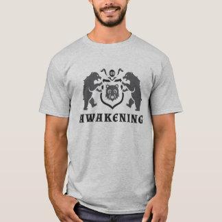 Gray Bears Awakening Blazon T-Shirt