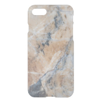 Gray & Beige Marble Texture G1 iPhone 7 Case