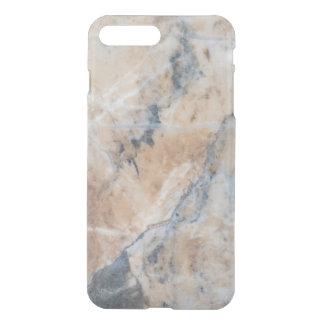 Gray & Beige Marble Texture iPhone 7 Plus Case