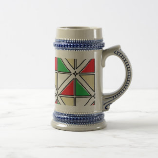 Gray/Blue 22 oz Stein art by Jennifer Shao