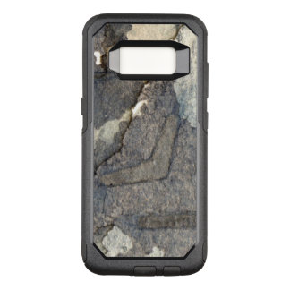 gray-blue background watercolor 2 OtterBox commuter samsung galaxy s8 case