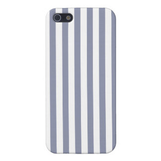 Gray-Blue Vertical Stripes; Striped iPhone 5 Covers
