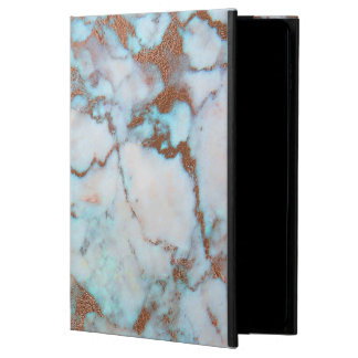Gray Brown And Blue Marble Powis iPad Air 2 Case