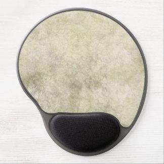 Gray Brown Marble Look Gel Mouse Pad