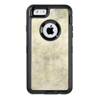 Gray Brown Marble Look OtterBox Defender iPhone Case