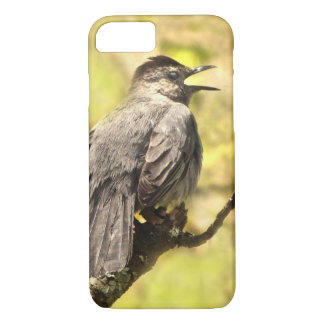 Gray Catbird Sings His Song iPhone 8/7 Case