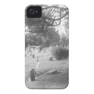 Gray Cemetery iPhone 4 Cases