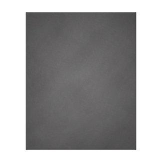 Gray Chalkboard Background Black Chalk Board Canvas Print