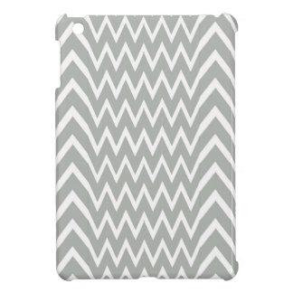 Gray Chevron Illusion iPad Mini Case